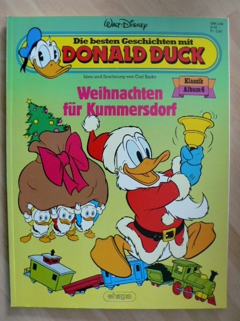 donald duck klassik album 6 weihnachten f r kummersdorf. Black Bedroom Furniture Sets. Home Design Ideas