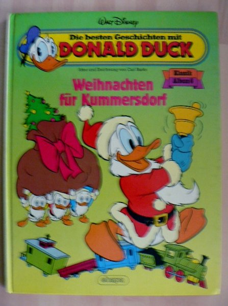 hc donald duck klassik album 6 weihnachten f r. Black Bedroom Furniture Sets. Home Design Ideas