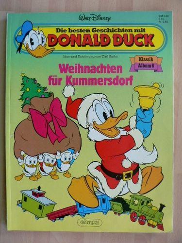 Comic Bilder Weihnachten.Donald Duck Klassik Album 6 Weihnachten Für Kummersdorf Carl Barks Ehapa Top