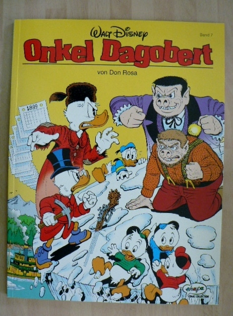 onkel dagobert 7  don rosa  ehapa ea top  comic contor™