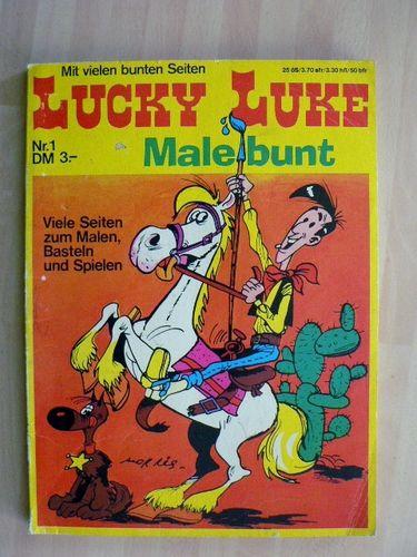Lucky Luke - Malbuch - Morris - Inter - Comic Contor™
